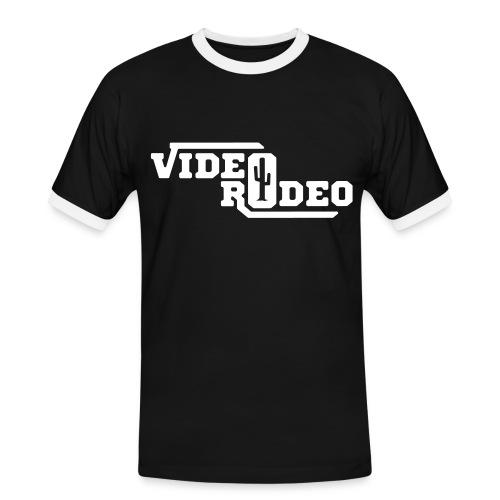 Video Rodeo T-Shirt 2 - Männer Kontrast-T-Shirt