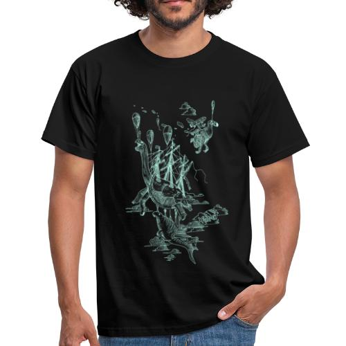 Sven Palmowski Flugschiffe - Männer T-Shirt