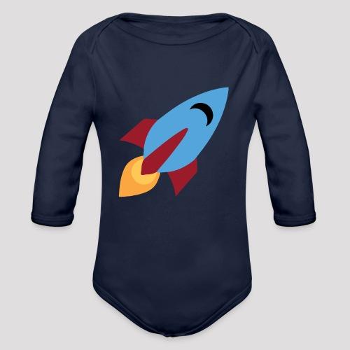 Rocket - Baby Bodysuit - Organic Longsleeve Baby Bodysuit