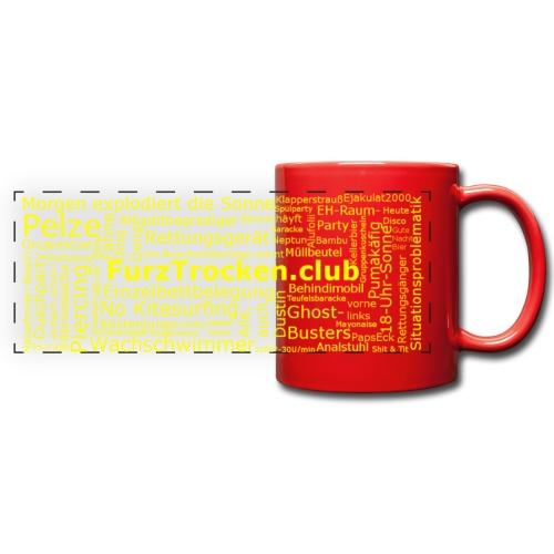FurzTrockene Tasse - Panoramatasse farbig
