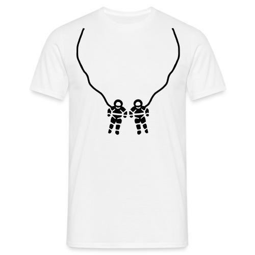 HumourThemes white T-shirt - Men's T-Shirt