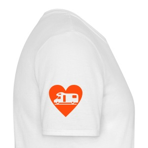 Motorhome Love (sleeve) - Men's T-Shirt