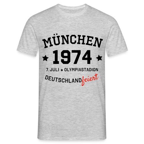 München 1974 Motto T-Shirt - Männer T-Shirt