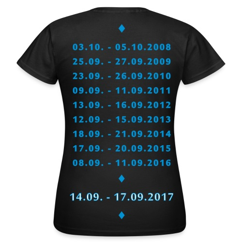 MT XXL Edersee (Jubiläum) Standard Ladies Shirt - Frauen T-Shirt