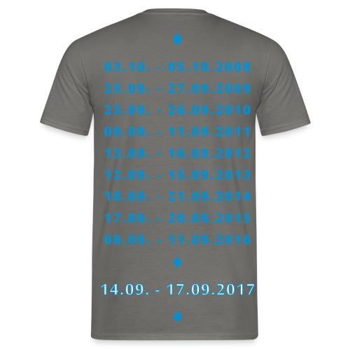 MT XXL Edersee (Jubiläum) Standard Shirt - Männer T-Shirt