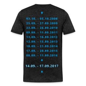 MT XXL Edersee (Jubiläum) Premium Shirt - Männer Premium T-Shirt