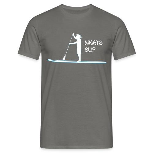 What's SUP BW - Männer T-Shirt