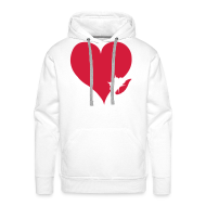Sweaters ~ Mannen Premium hoodie ~ Productnummer 11197743