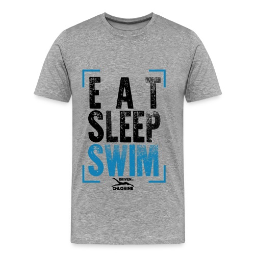 Eat,Sleep,Swim - The Tee - Männer Premium T-Shirt