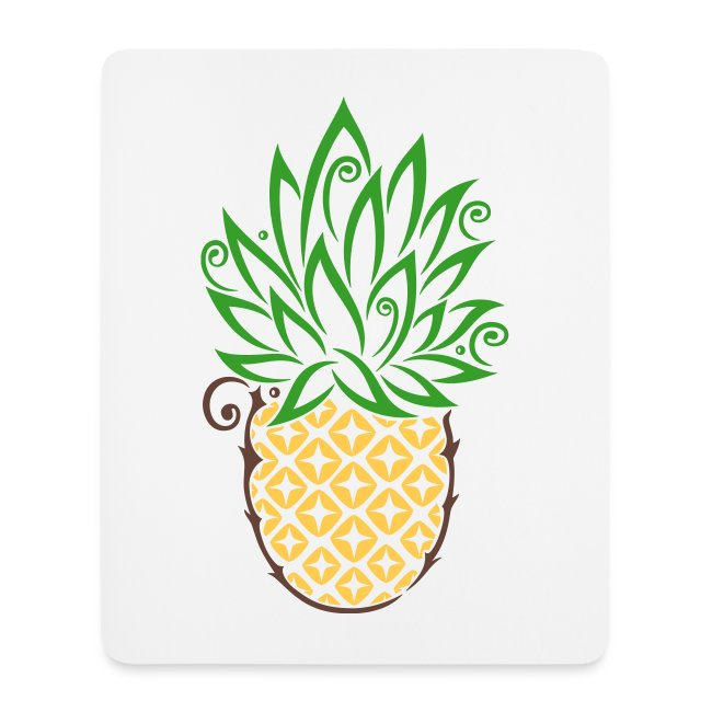 Merch and Beauties | Ananas Sommer Früchte Tattoo Style - Mousepad ...