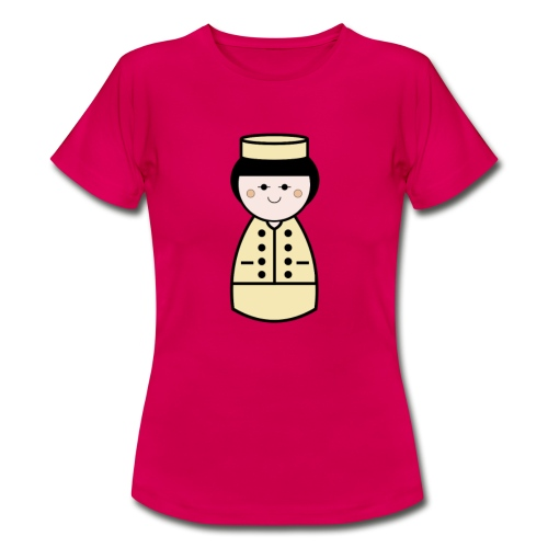 Womens French Doll Tshirt - Women's T-Shirt