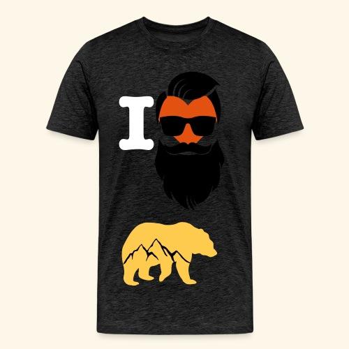 B-lovers - Männer Premium T-Shirt