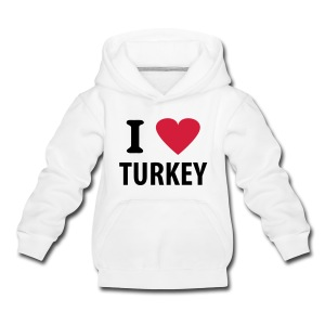 I love Turkey - Kinder Premium Kapuzenpullover