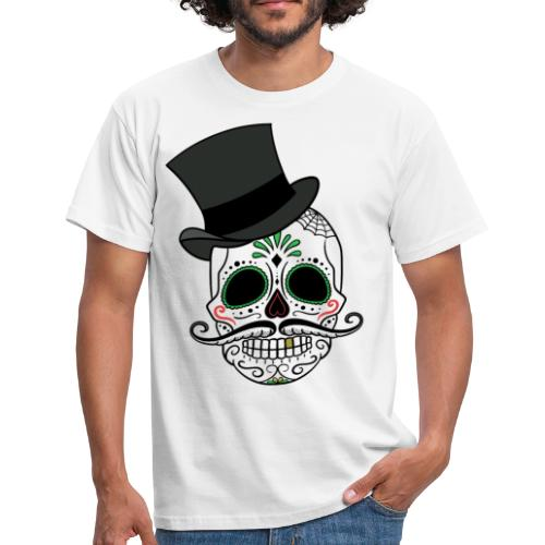 Totenkopf Day of the Dead - Männer T-Shirt