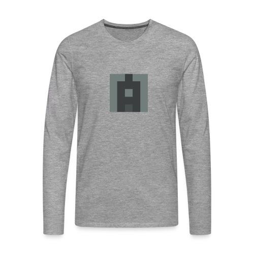 Lifealbum M grey - Herren Premium Langarmshirt - Männer Premium Langarmshirt