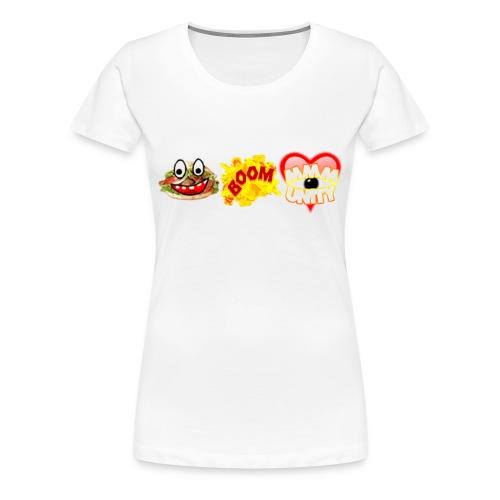 Emote Frauen Shirt - Frauen Premium T-Shirt