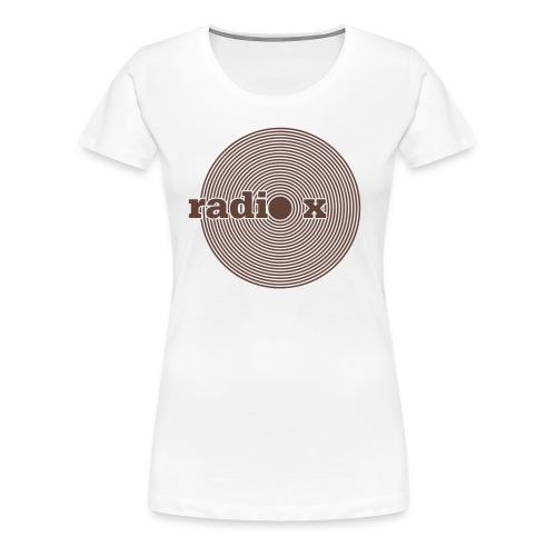 DISC braun - samtig - Frauen Premium T-Shirt