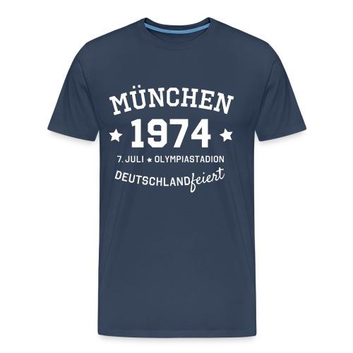München 1974 Motto Premium T-Shirt - Männer Premium T-Shirt