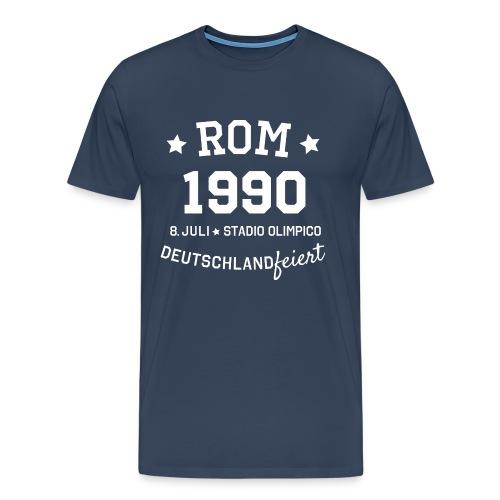 Rom 1990 Motto Premium T-Shirt - Männer Premium T-Shirt