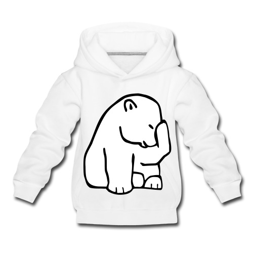 Sweatshirt ours polaire - Pull à capuche Premium Enfant