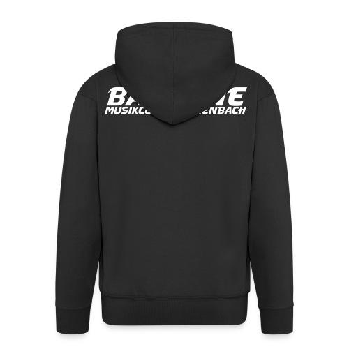BASSLINE Kapuzenjacke - Männer Premium Kapuzenjacke