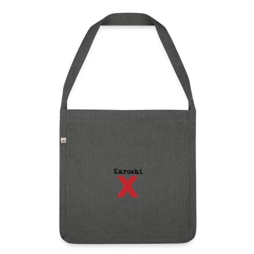 Karoshi X Umhängetasche grau - Schultertasche aus Recycling-Material