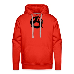 Sweat Anarchy - Sweat-shirt à capuche Premium pour hommes
