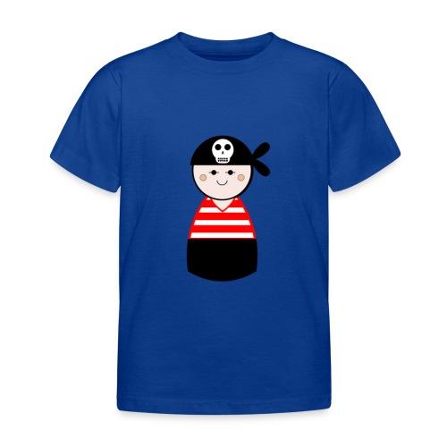 Kids Red Pirate Tshirt - Kids' T-Shirt