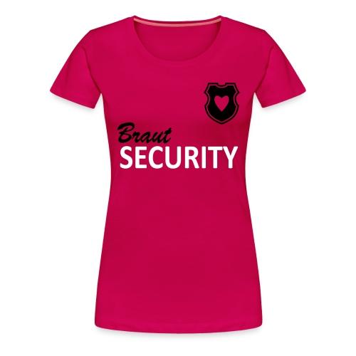 Shirt - rbw - Braut Security - Frauen Premium T-Shirt