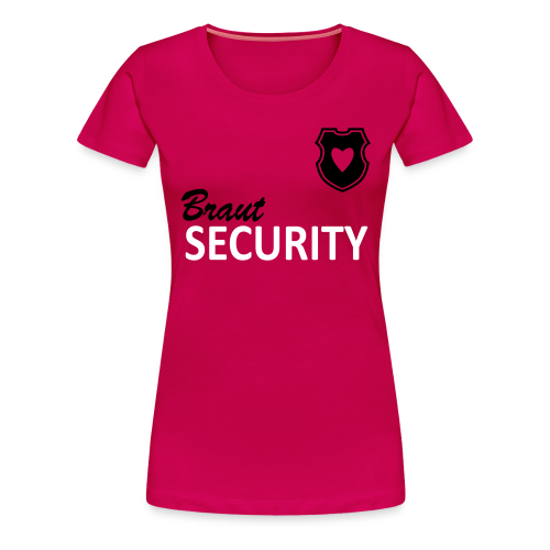 Shirt - rbw - Braut Security - Frauen Premium T-Shirt