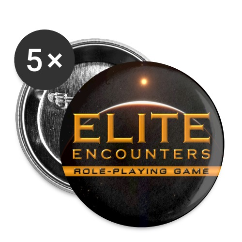 Elite Encounters Full Colour Logo Button - Buttons small 25 mm