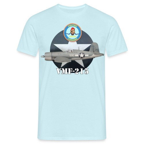 F4U Corsair VMF-215 Fighting Corsairs - Men's T-Shirt