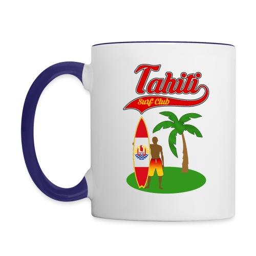 Tahiti Surf Club - Contrasting Mug