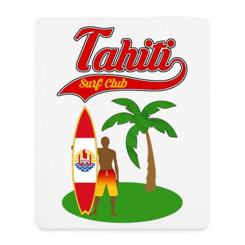Tahiti Surf Club - Mouse Pad (vertical)