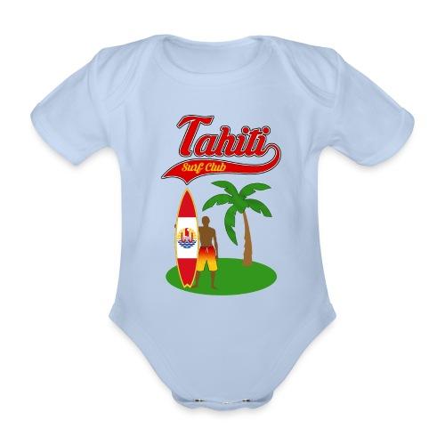 Tahiti Surf Club - Organic Short-sleeved Baby Bodysuit