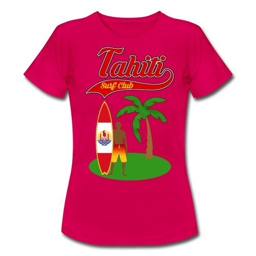 Tahiti Surf Club - Women's T-Shirt