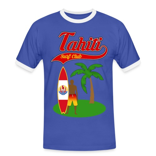 Tahiti Surf Club - Men's Ringer Shirt