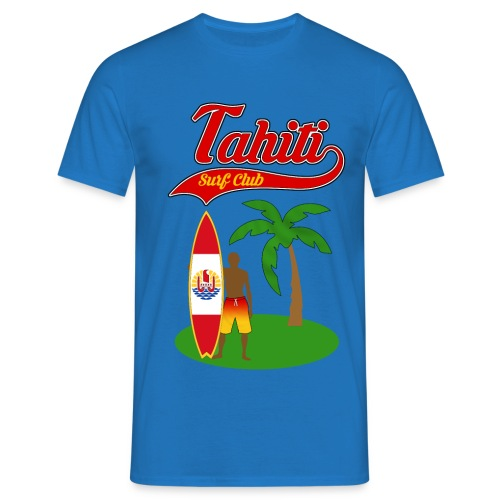 Tahiti Surf Club - Men's T-Shirt