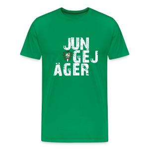 JungeJäger NRW grün - Männer Premium T-Shirt