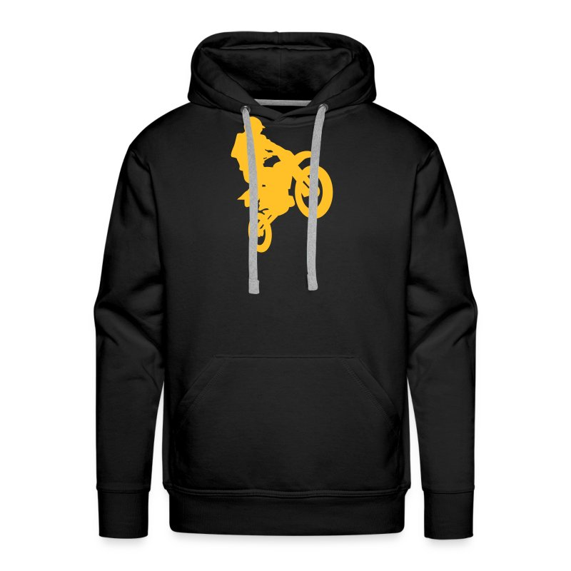 Sweat à capuche Cross - Sweat-shirt à capuche Premium pour hommes