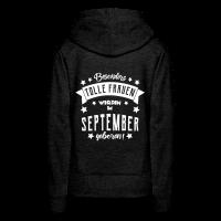Geburtstag im September Frau Pullover & Hoodies