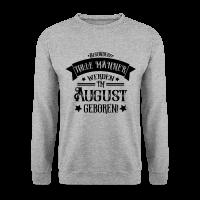 Geburtstag im August geboren Männer Pullover & Ho
