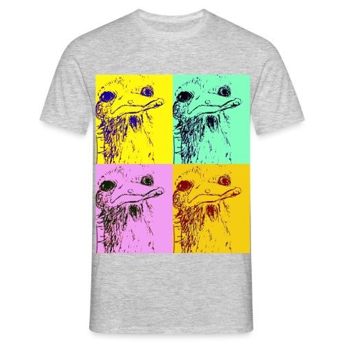 Autruche de wa?? - T-shirt Homme