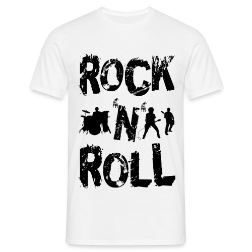 Rock N Roll - Men's T-Shirt