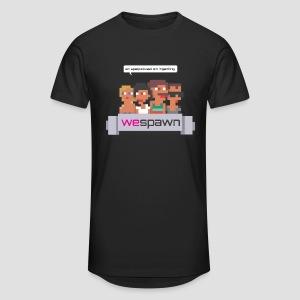 WeSpawn - Svart - Urban lång T-shirt herr