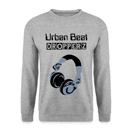 Grey Headphones Jumper - Men's Sweatshirt