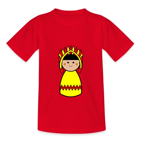Kids Native American Tshirt - Kids' T-Shirt