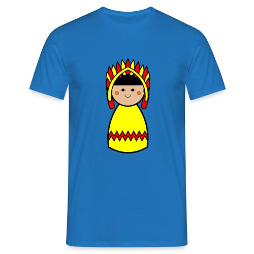 Mens Native American Tshirt - Men's T-Shirt
