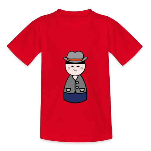 Kids Cowboy Design Tshirt - Kids' T-Shirt