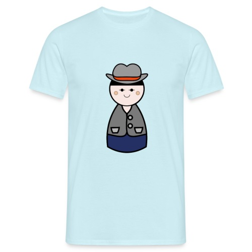 Mens Cowboy Tshirt - Men's T-Shirt